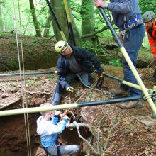 Underground safety and stunt training