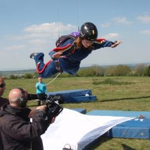 Parachuting - safety training and advice