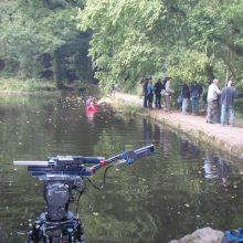 Water safety on location with 'Skins'