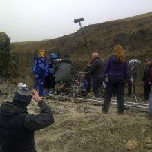 Quarry filming Wizards vs Aliens
