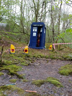 Moss protection in Wales on set for Dr Who